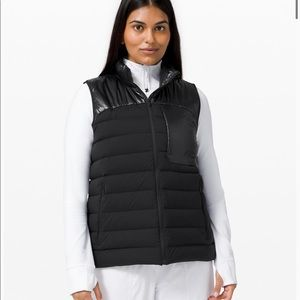 Lululemon Navigation Stretch Down Vest
